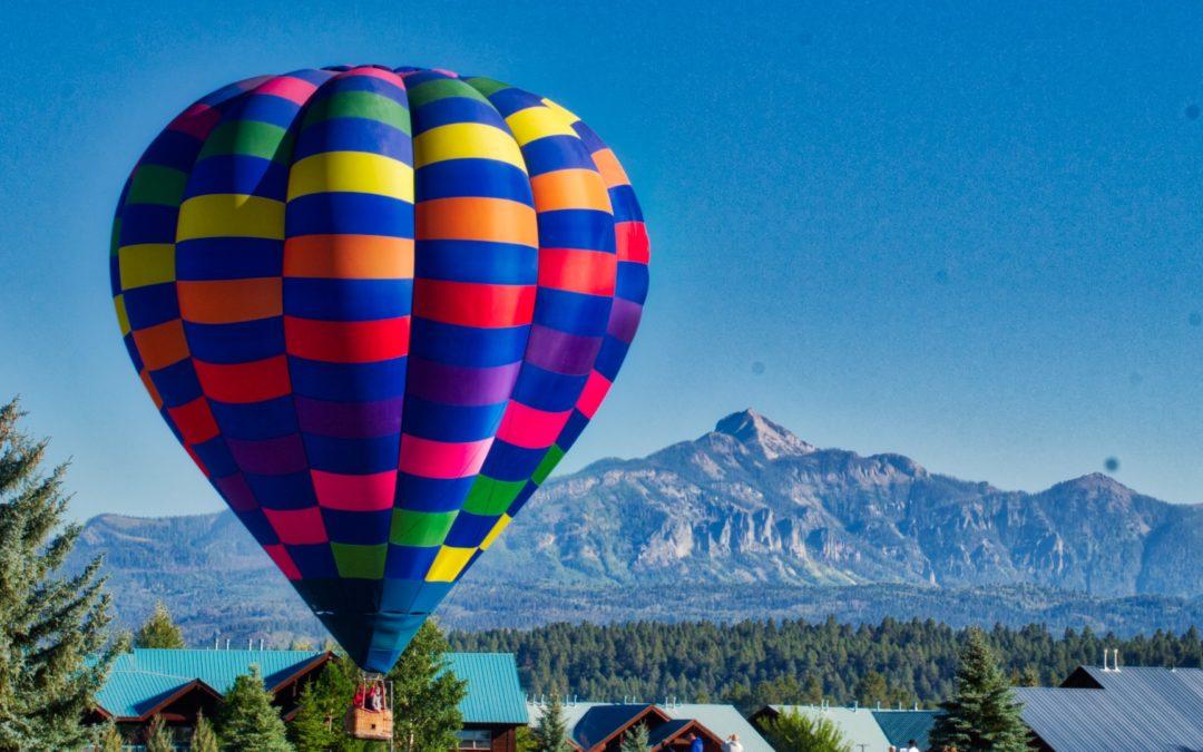 Pagosa Springs Colorfest Balloon Weekend!!!
