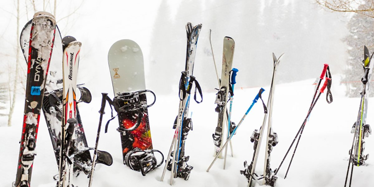 picture of snowboards